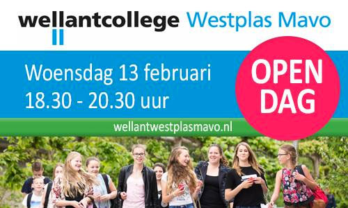 Open dag Wellant Westplas Mavo open dag